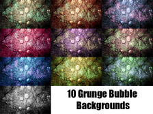10 Grunge Bubble Backgrounds
