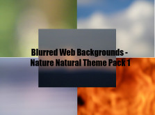 Blurred Nature Web Backgrounds Package #1